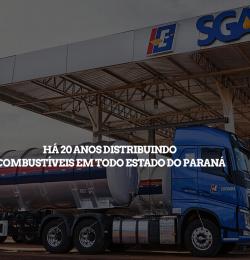 Há 20 anos distribuindo combustíveis em todo estado do Paraná